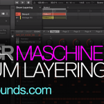 Maschine drum layering