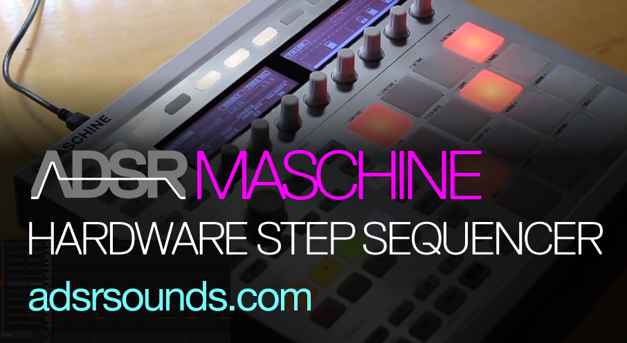 Get started with the Maschine step sequencer